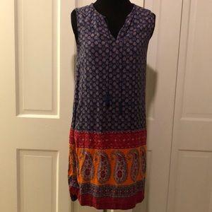 BLL New York sleeveless tassel dress XS